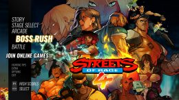 Streets of Rage 4 - How to Unlock Boss Rush