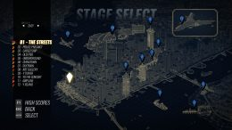 Streets of Rage 4 - How to Unlock Stage Select