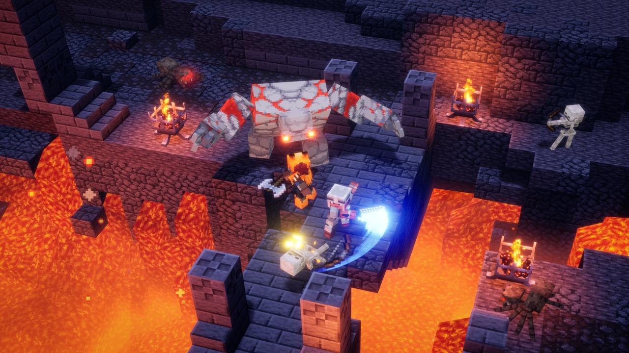 Minecraft-Dungeons-Redstone-Golem