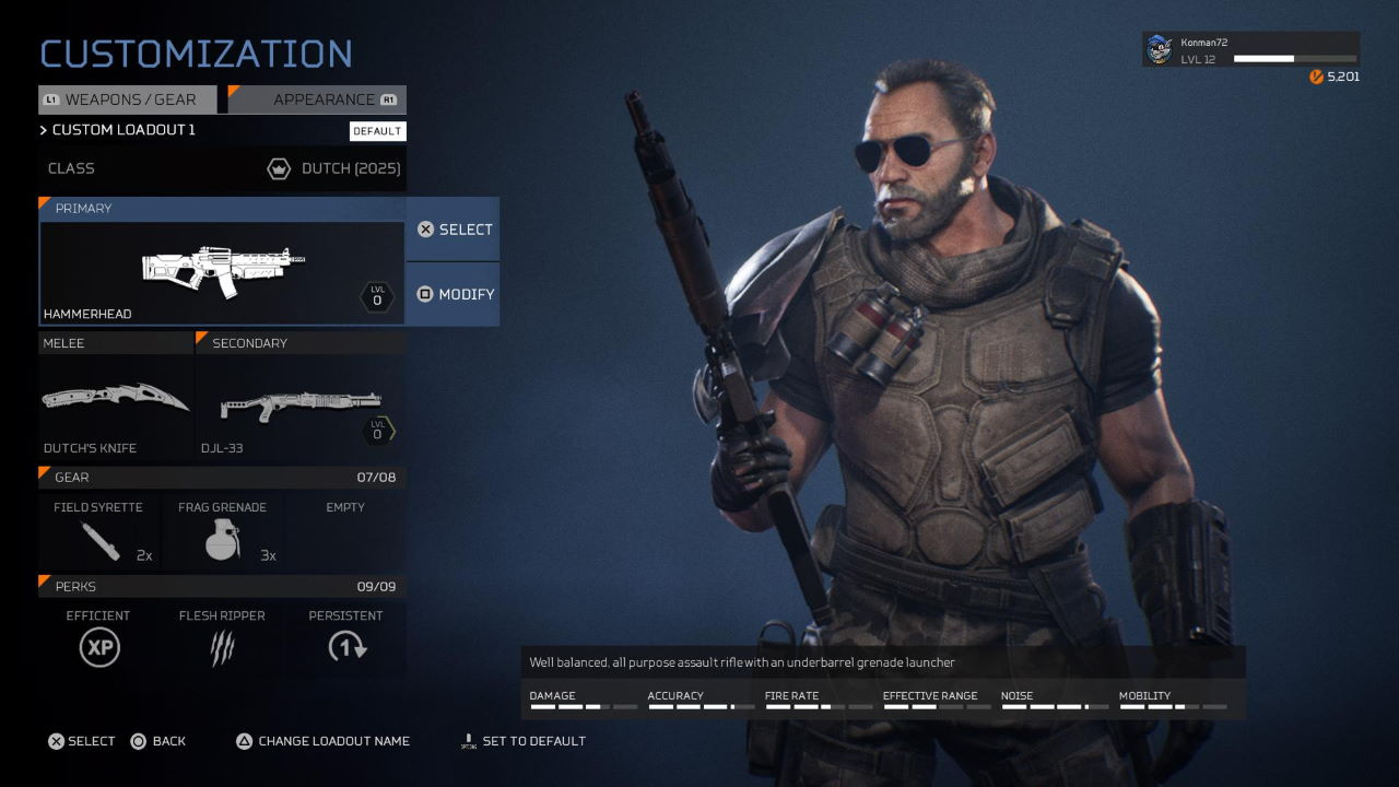 Predator-Hunting-Grounds-How-to-Unlock-and-Change-to-Dutch-and-his-Weapons