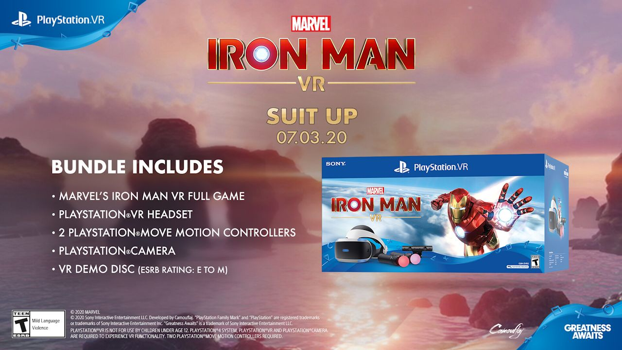 Iron Man VR Playable Demo Now Available On PlayStation Store