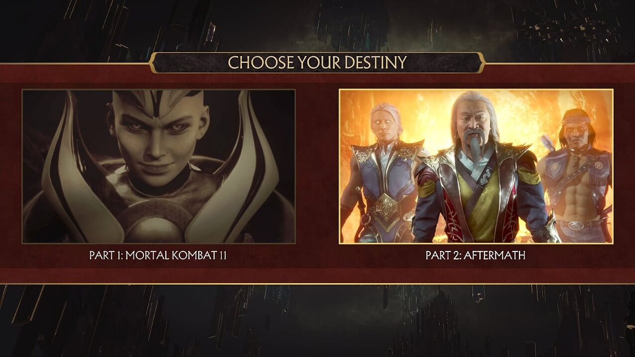 Mortal Kombat 11 How To Access Aftermath Expansion Dlc Attack