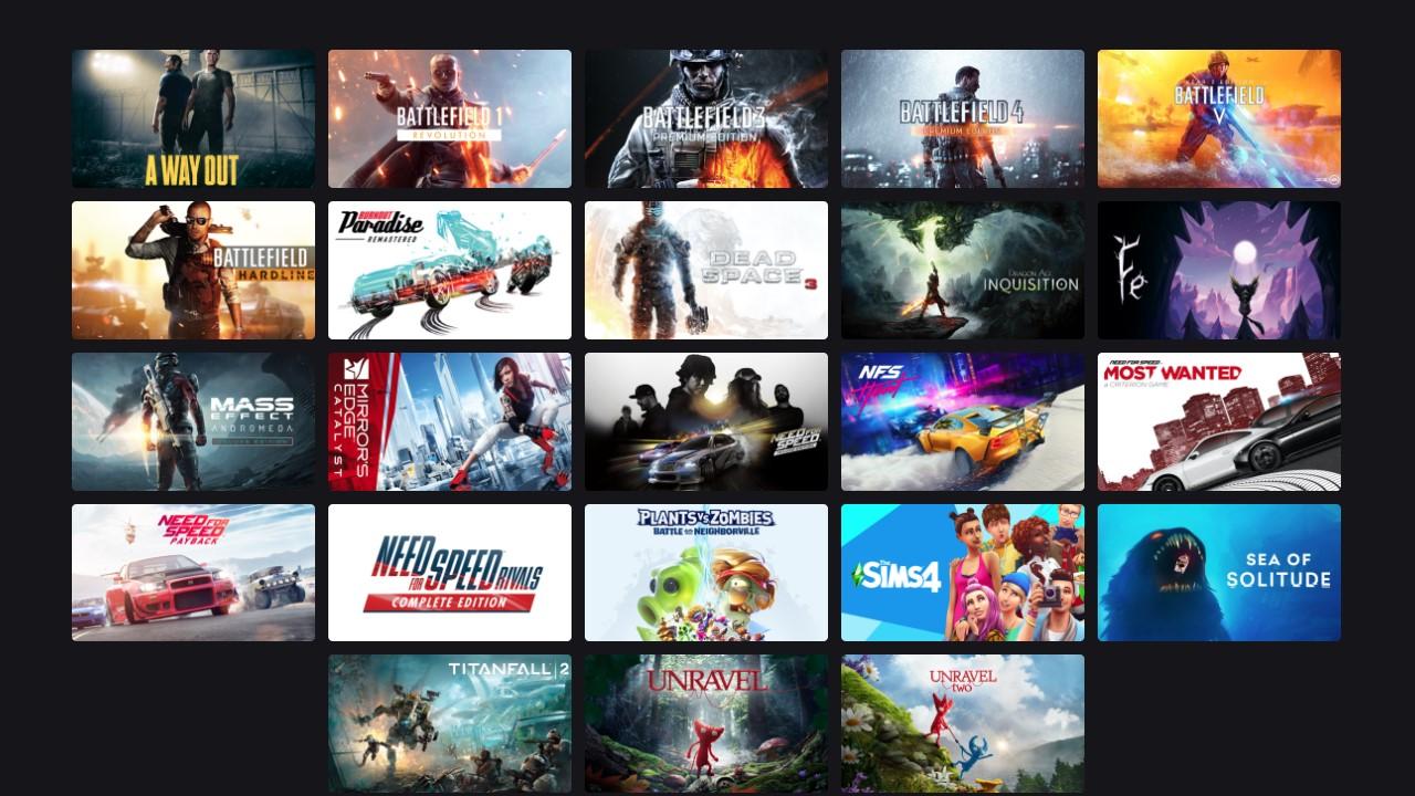 EA Play Help