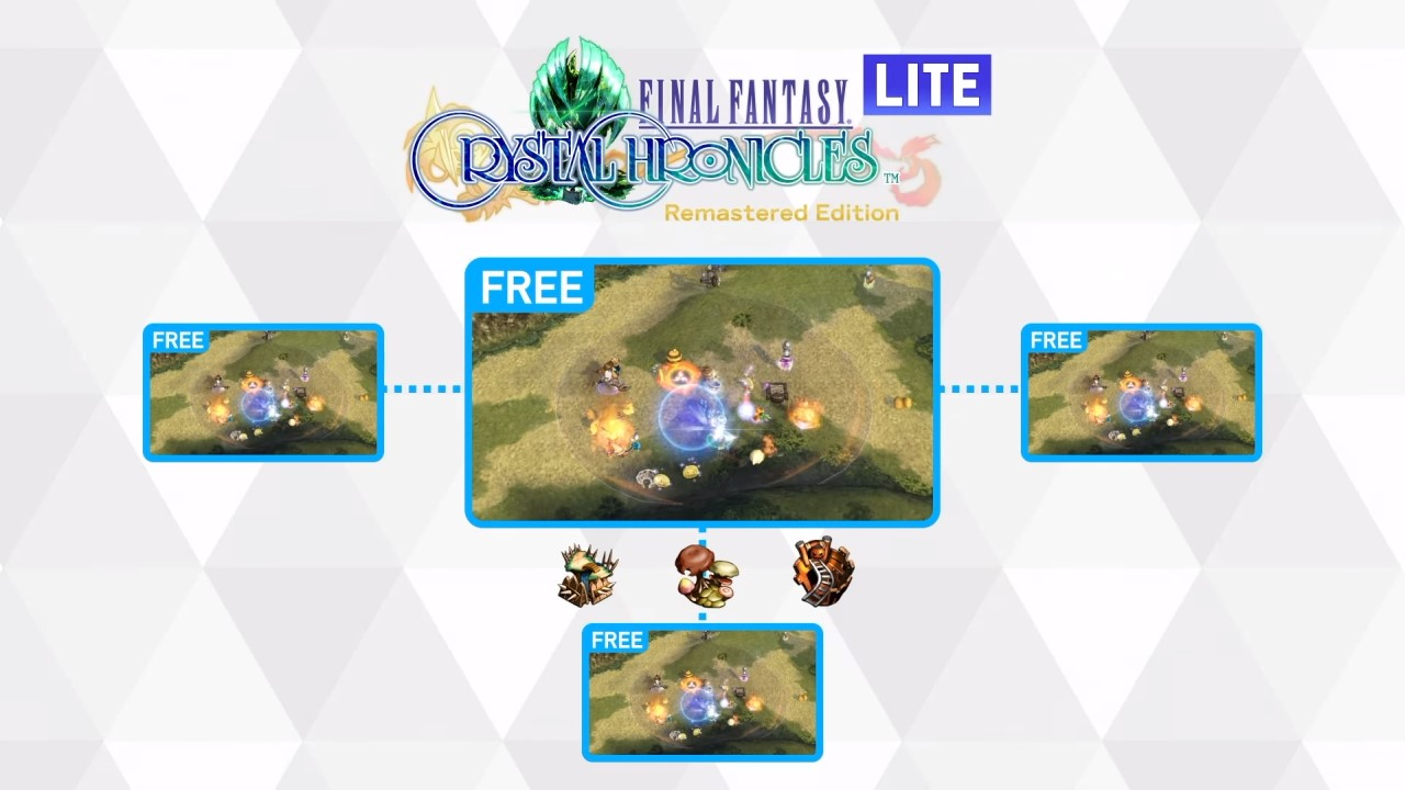 Final Fantasy Crystal Chronicles has a surprisingly thoughtful free Lite version