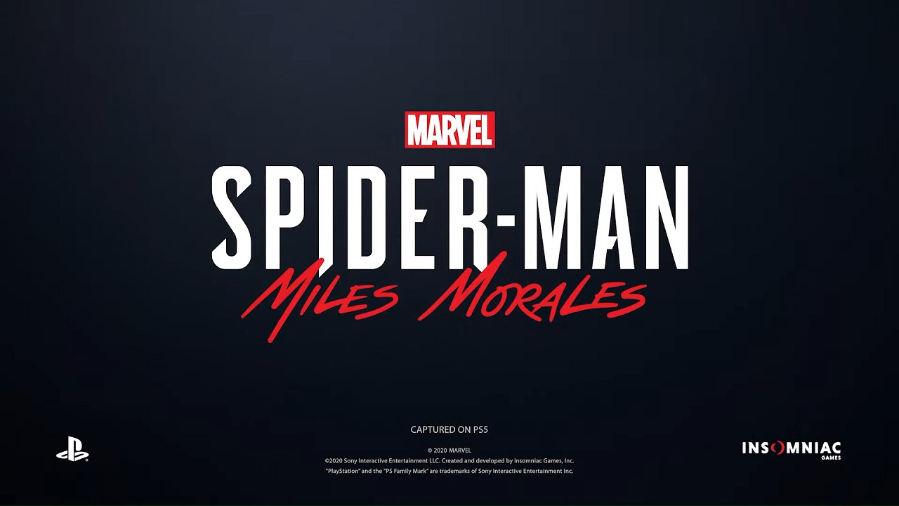 Marvel's Spider-Man: Miles Morales Suits up for Holiday 2020