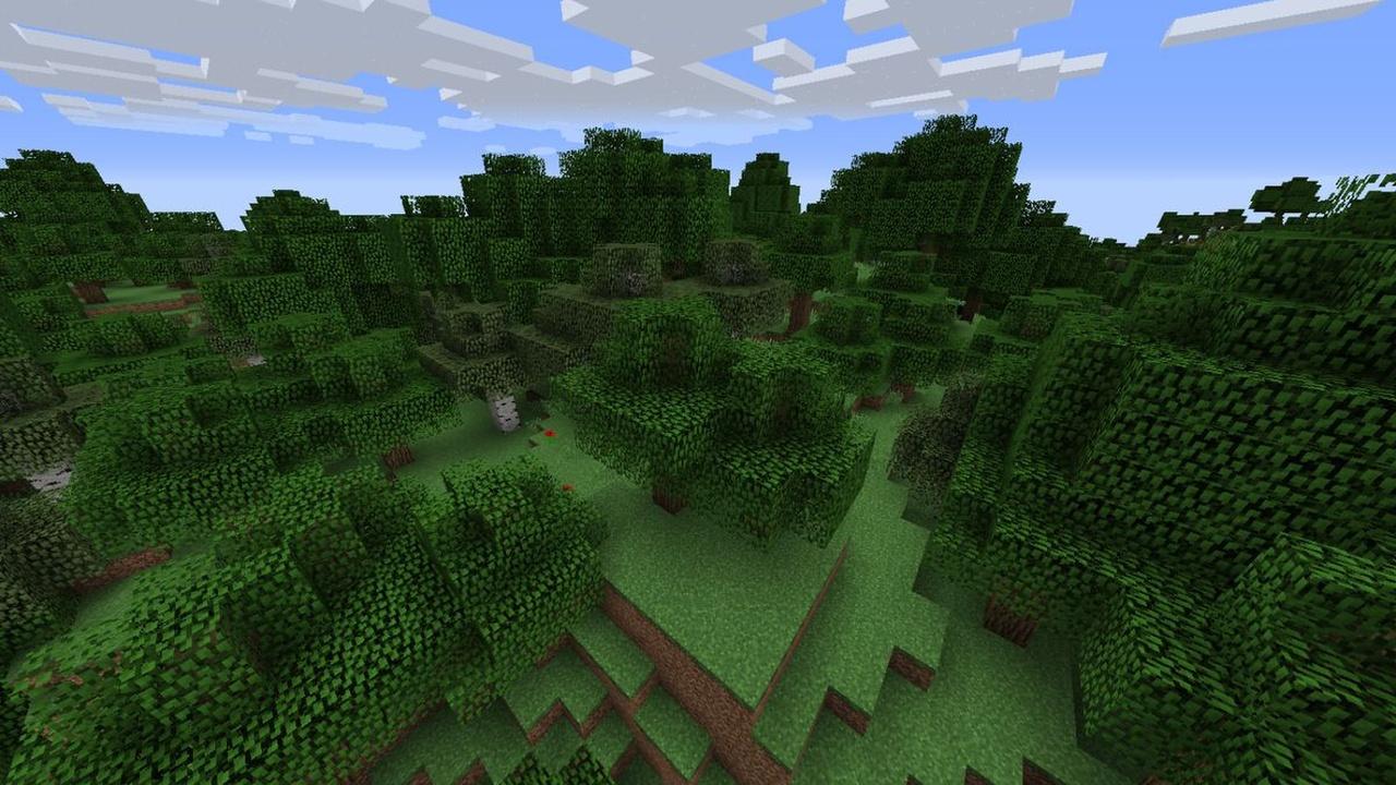 Minecraft-Fast-Leaf-Decay-Mod