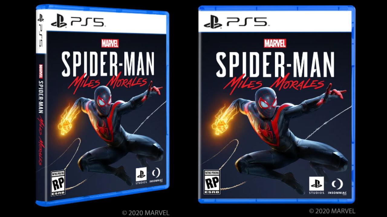 Spider-Man: Miles Morales Box Art Shows that PS5 Games Will Look ...