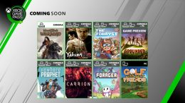 Grounded, Carrion, and More Coming to Xbox Game Pass in July