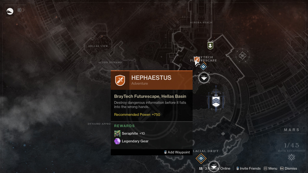 Destiny-2-Hephaestus-Fastest-Shortest-Adventure