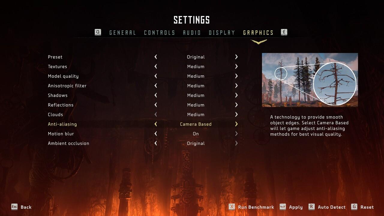 Horizon-Zero-Dawn-PC-Settings-Menu