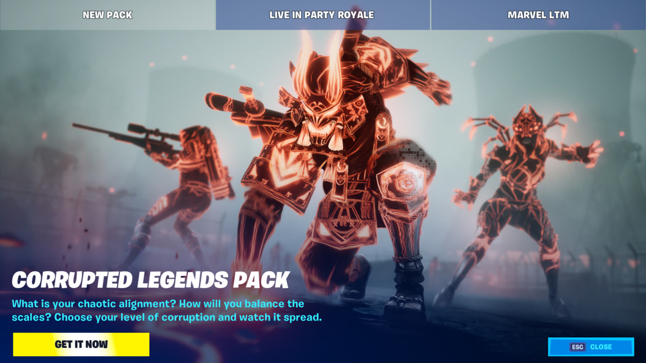 Fortnite-Corrupted-Legends-Pack