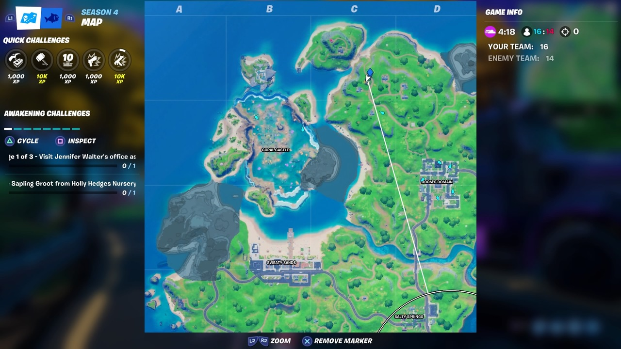 Fortnite-Trask-Industries-Truck-Map-Location