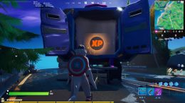 Fortnite XP Coin Trask Industries Truck