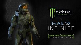 Halo Infinite Monster Energy promotion