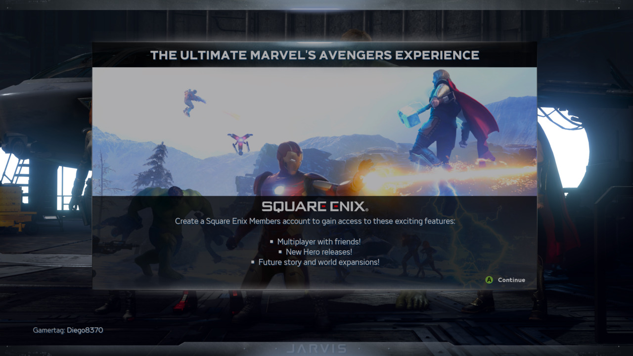 Marvel S Avengers How To Link Your Square Enix Account Attack Of The Fanboy