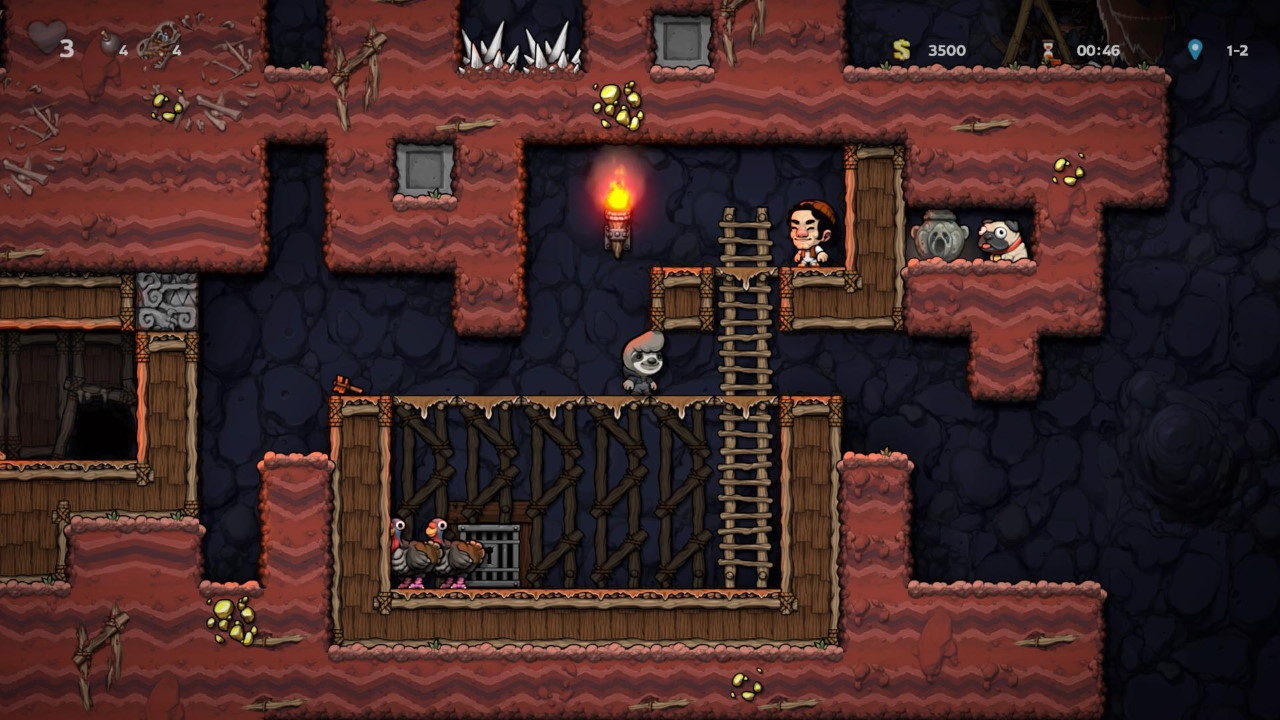 Spelunky-2-How-to-Bring-Turkeys-to-Yang-and-What-do-you-Get