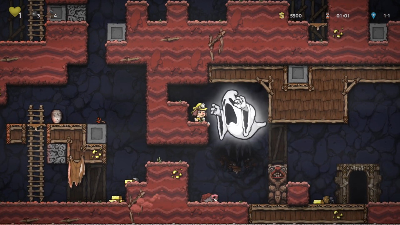 Spelunky-2-How-to-Kill-or-Get-Away-from-the-Ghost