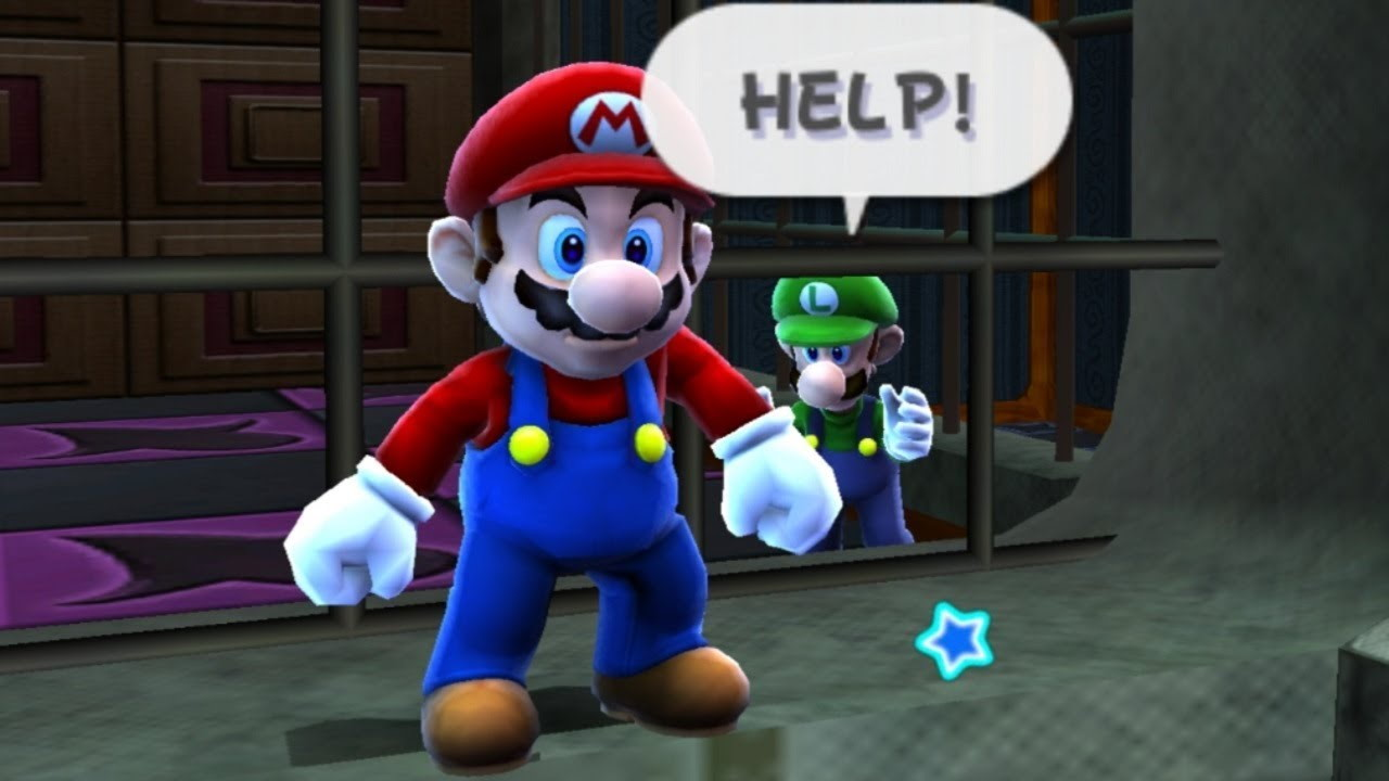 The real reason you couldn't play as Luigi in Super Mario 64