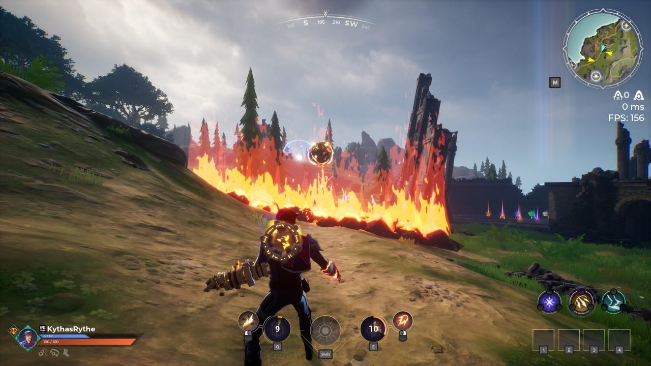 spellbreak-combo-fire