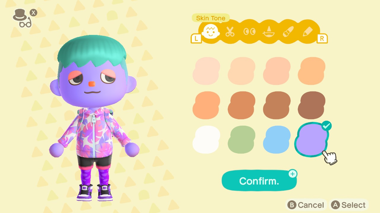 Animal-Crossing-Halloween-Update-How-to-Get-New-Face-and-Body-Paint-Colors