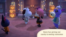 Animal Crossing New Horizons Candy Trick or Treat