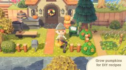 Animal Crossing New Horizons Pumpkin DIY Recipes