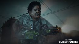 Call of Duty Warzone Leatherface Skin Texas Chainsaw Massacre