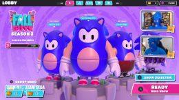 Fall Guys Sonic the Hedgehog Skin