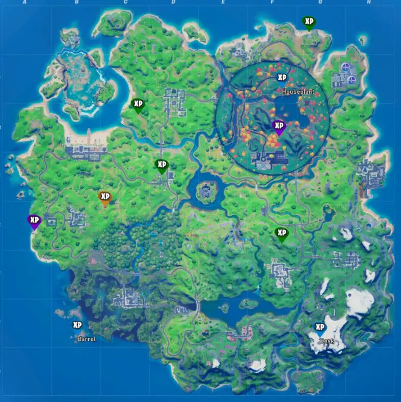 Fortnite-Season-4-Week-6-XP-Tokens-Map