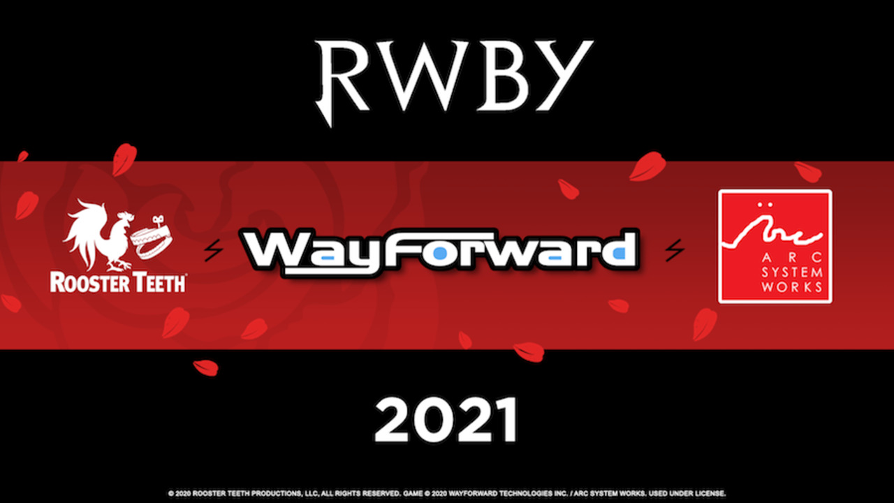 RWBY Wayforward Game