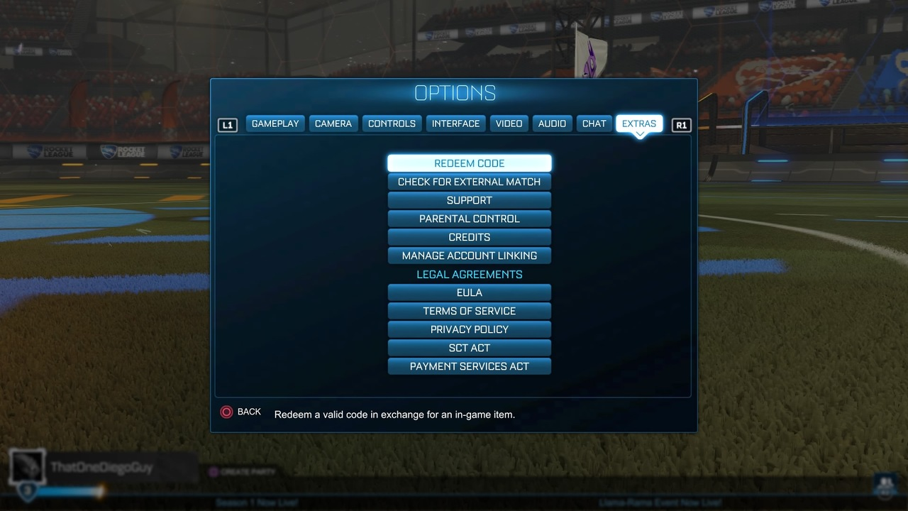 Rocket League Codes All Working Promo Codes 2020 Attack Of The Fanboy