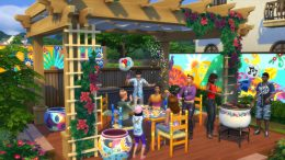 The Sims 4 October Update Hispanic Heritage Month