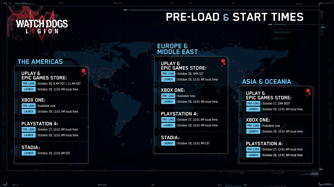 Watch-Dogs-Legion-Pre-Load-Launch-Times