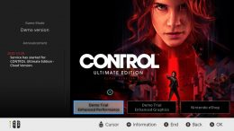 You Can Play Control on the Switch, if Your Internet is Up to Speed
