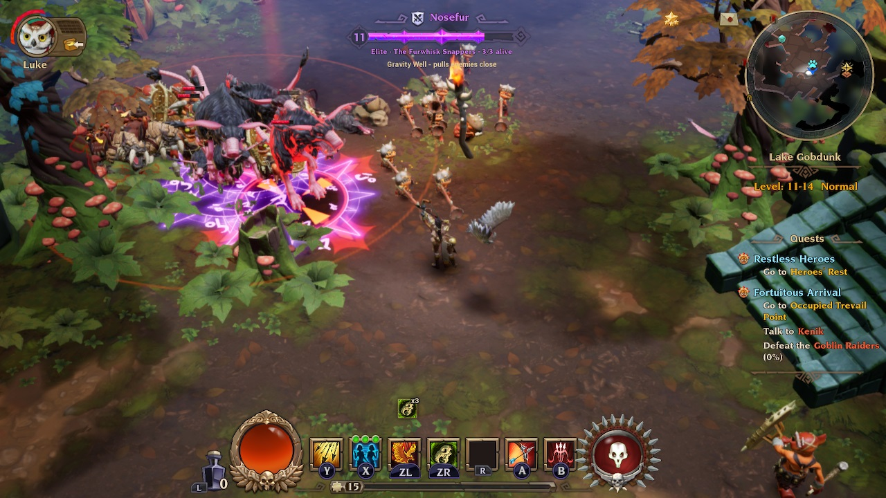 Torchlight III on the Switch isn't Worth Your Time