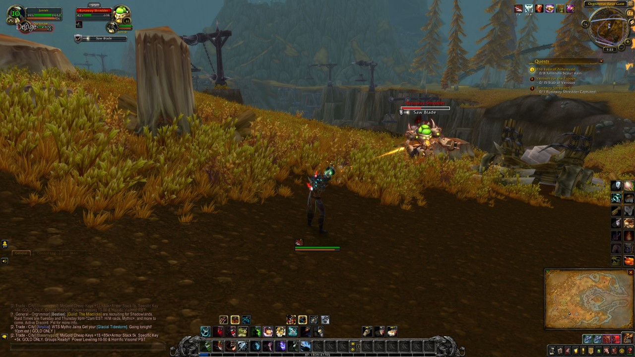 wow-leveling-hunter