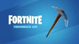 Fortnite OG Throwback Pickaxe