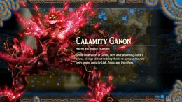 Hyrule Warriors Age of Calamity Ganon