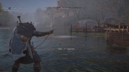 Assassin's Creed Valhalla - How to Unlock Fishing, How to Fish