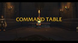 World of Warcraft Shadowlands: How to Unlock Mission Command Table