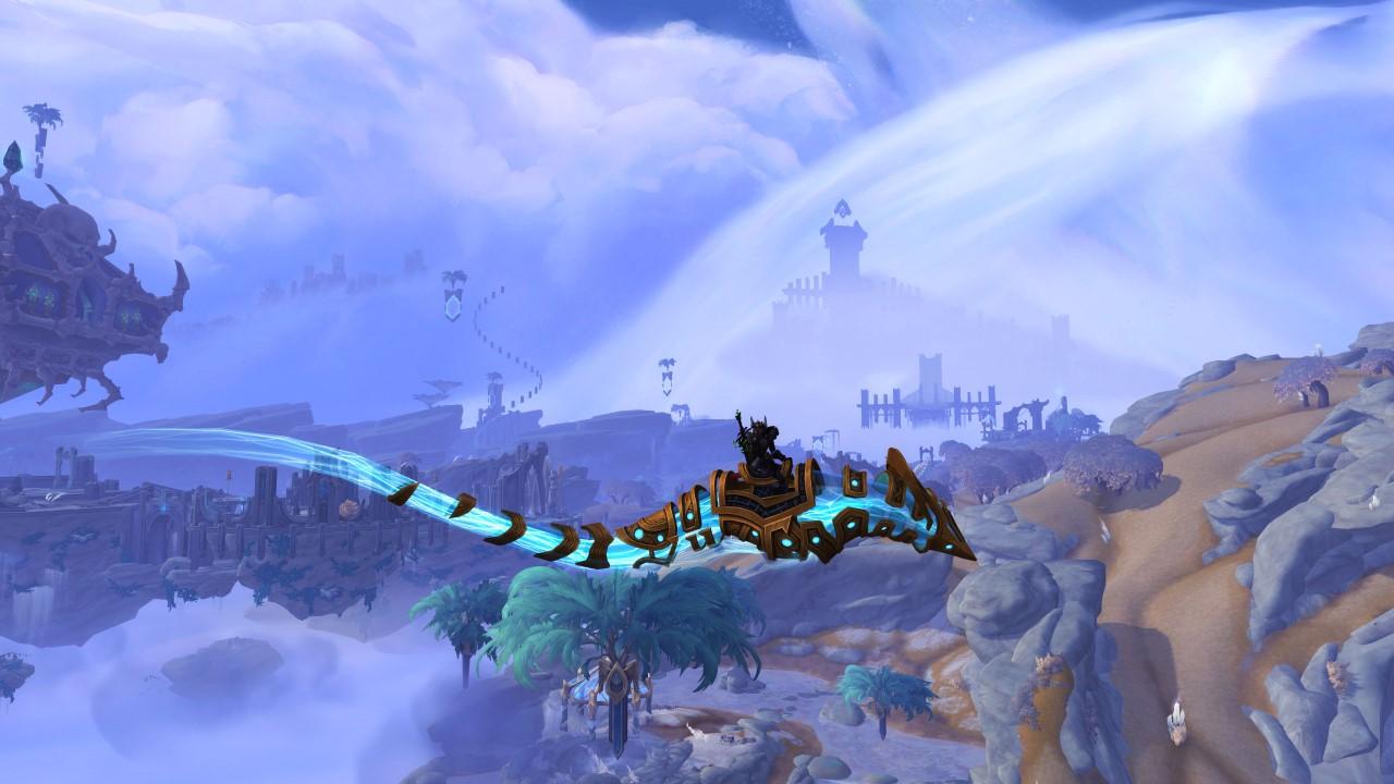 wow shadowlands flying