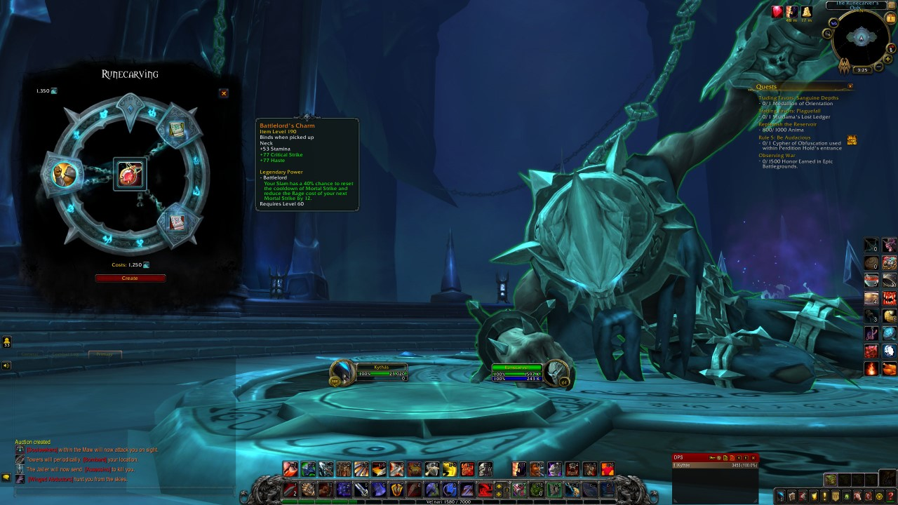 wow-shadowlands-runecarver-crafting
