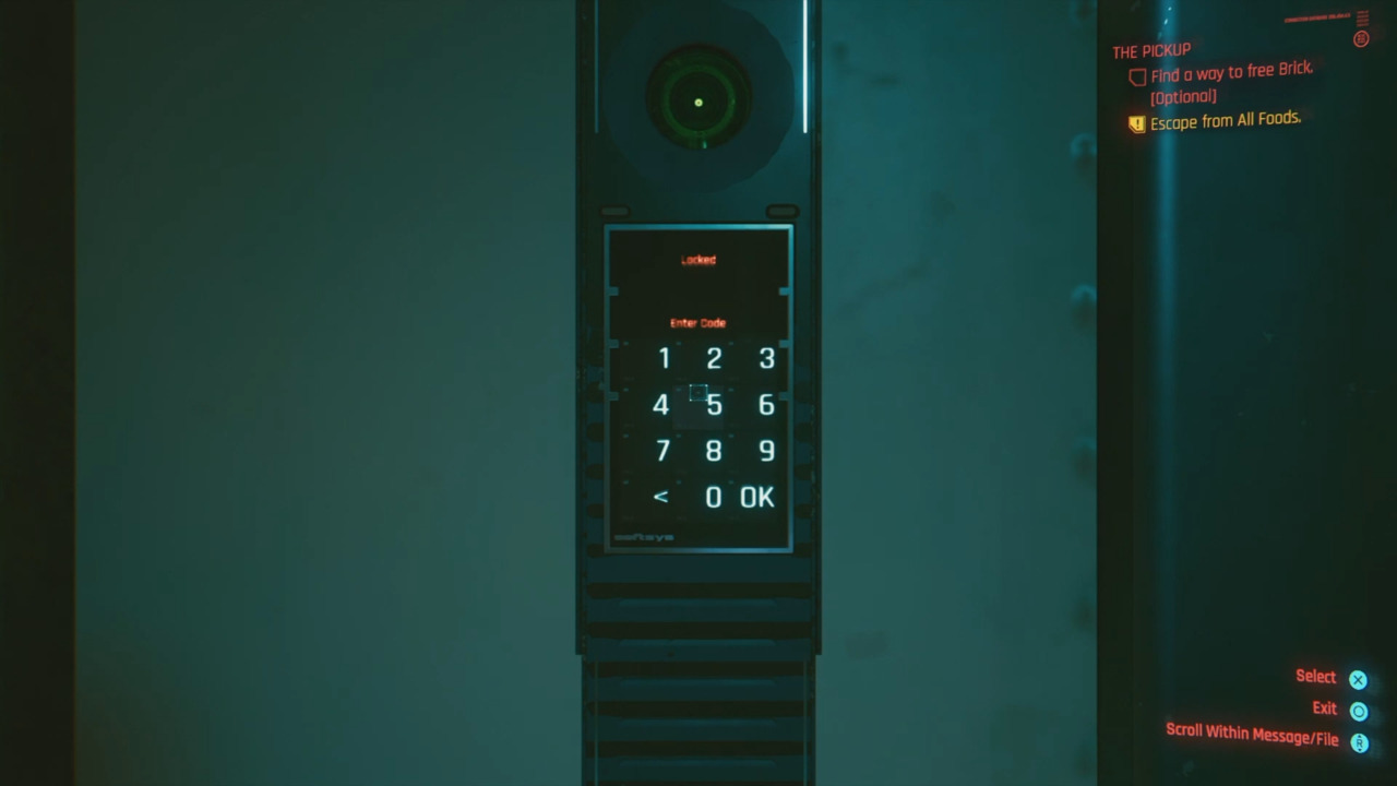 Cyberpunk-2077-Free-Brick-Keypad-Code