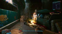 Cyberpunk 2077 Skippy Talking Gun