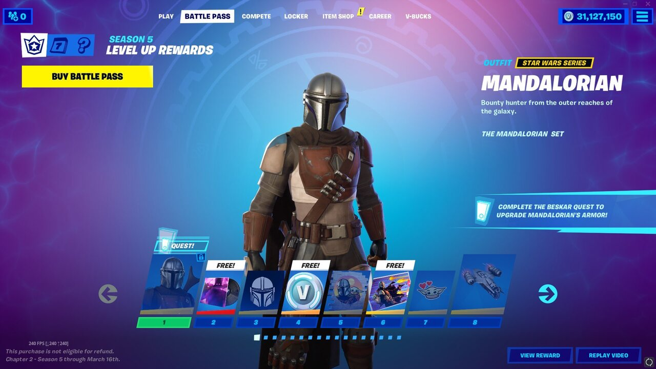 Fortnite How To Get The Mandalorian And Baby Yoda Attack Of The Fanboy Epic games today announced the release of an exciting new feature for fortnite with heavy twitch integration that allows players to obtain and complete twitch quests. fortnite how to get the mandalorian