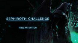 Super Smash Bros Ultimate Sephiroth Challenge