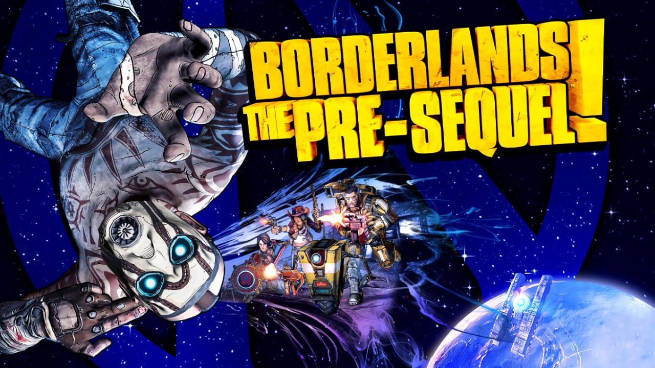 Borderlands The Pre-Sequel Promotional Title Card