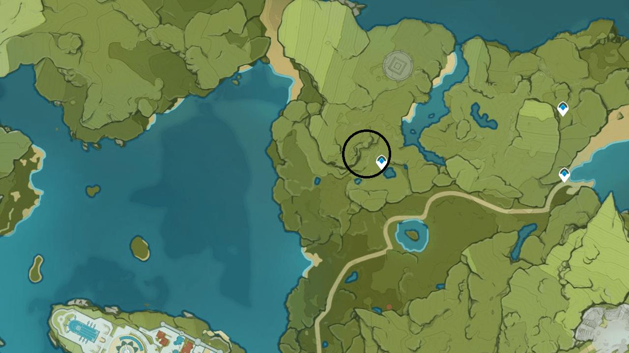 Genshin-Impact-Pinecone-Location