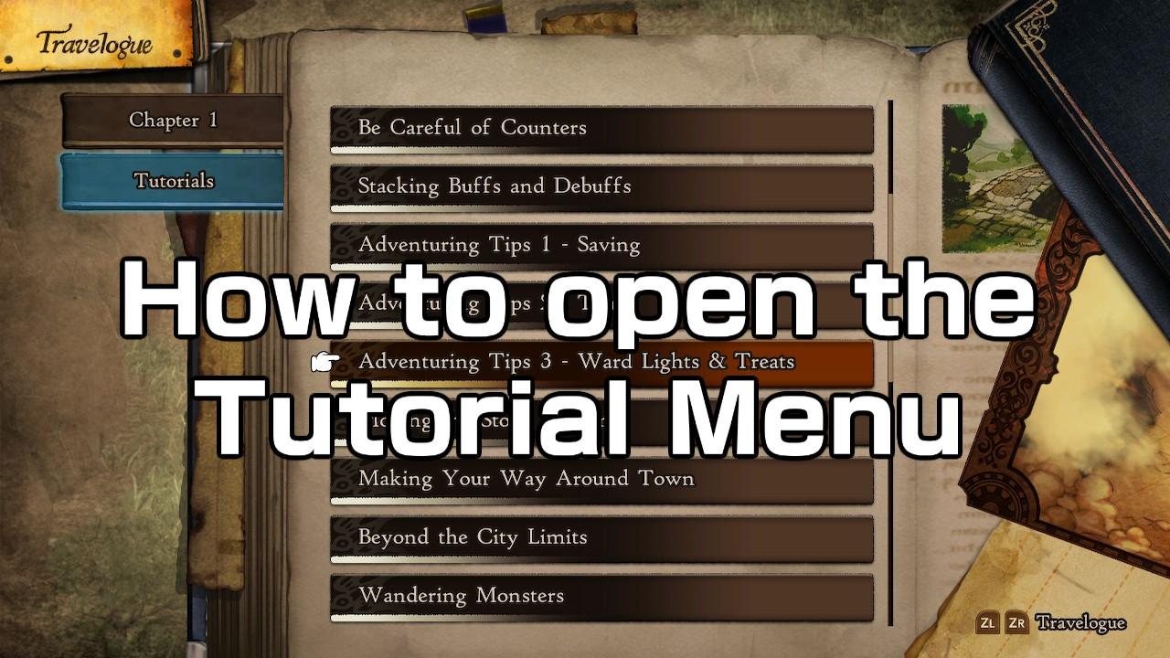 Bravely_Default_II_How_to_open_the_Tutorial_Menu