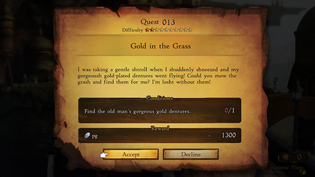 bravely-default-2-gold-in-the-grass